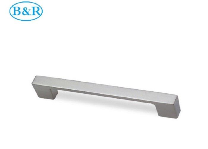 Aluminum Alloy Kitchen Cabinet Handles 128 / 160 Mm Hole Distance